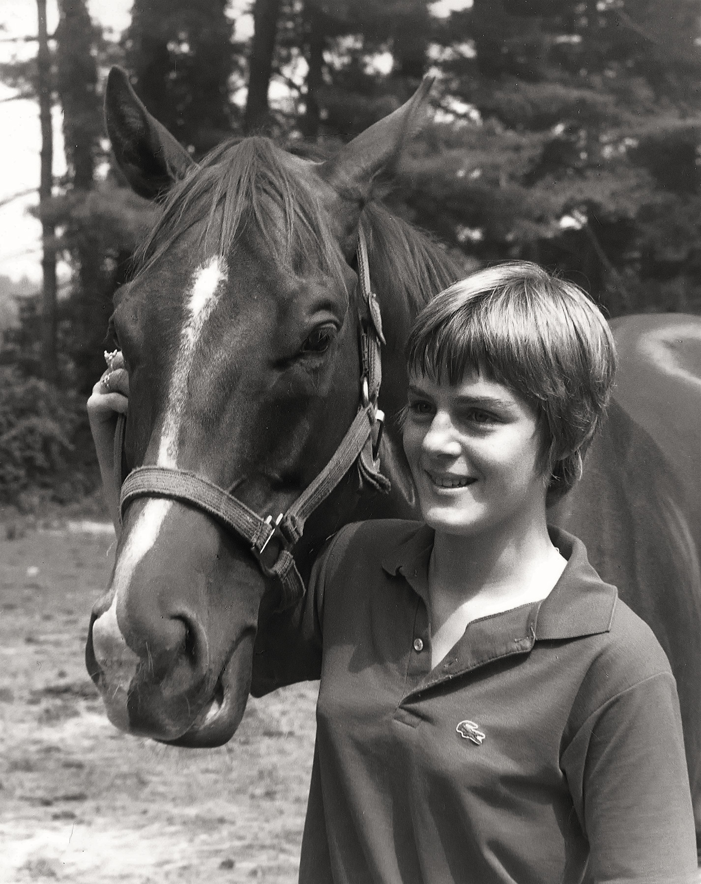 Jane Spell with Horse