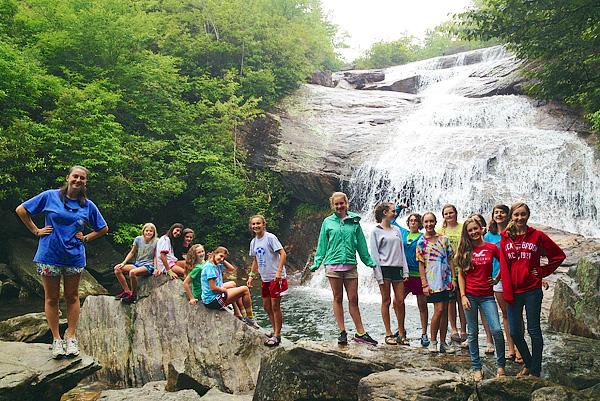 North Carolina Waterfall Hike