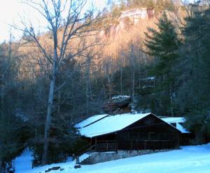 Snowy Dining Hall
