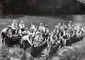 Canoe Trip Camp Girls