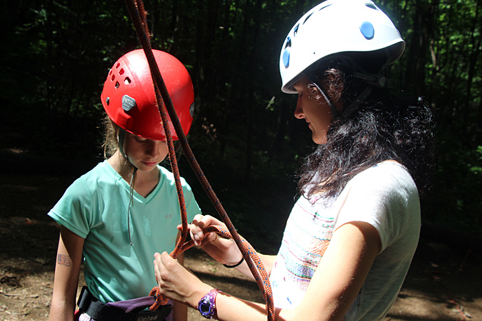 Camp Climbing Instructor