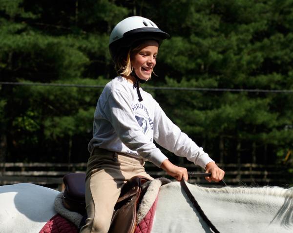 Horseback Riding Video Girl