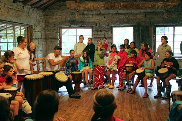 Summer Camp Drum Class