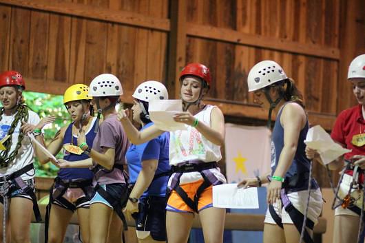 Climbing staff camp skit