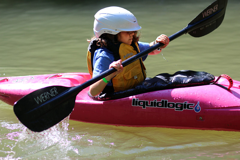 Kayaker Camp Kid