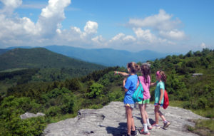 Mountain Top Camp Hikers