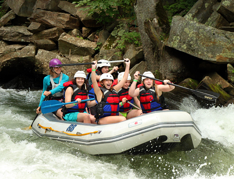 Camp Rafting Cheer