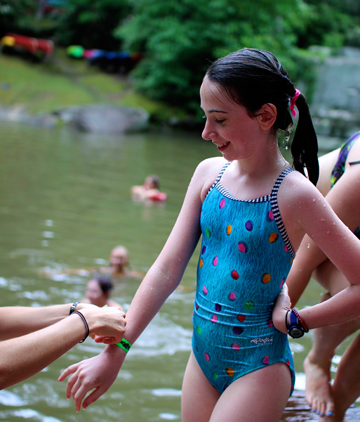 jittery excitement rockbrook summer camp for girls