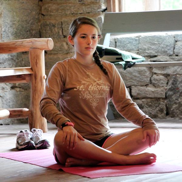 Kids Camp Yoga Pose