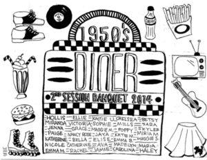 1950s Diner Banquet