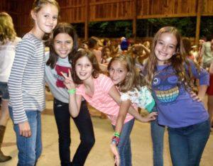 Camp Dance Girls