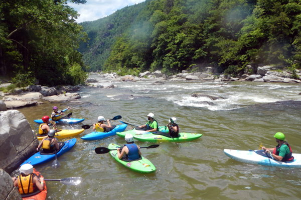 Camp Nolichucky Kayaking