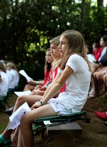 Summer Chapel Camper