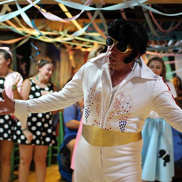 Elvis Costume Party