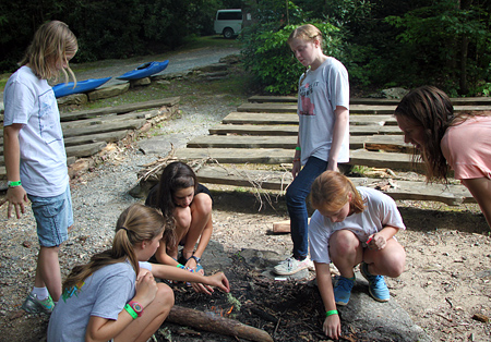 Camp Fire Starting Class