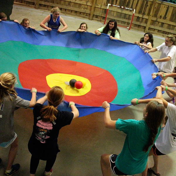 Gym Games at summer camp