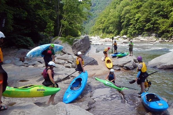 Nolichuck Whitewater Kayaking Kids