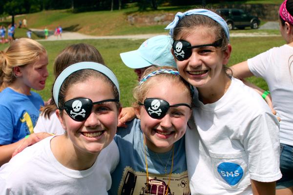 Pirate Eye Patch Girls