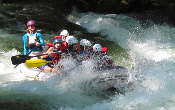 Rafting Rapid Splash