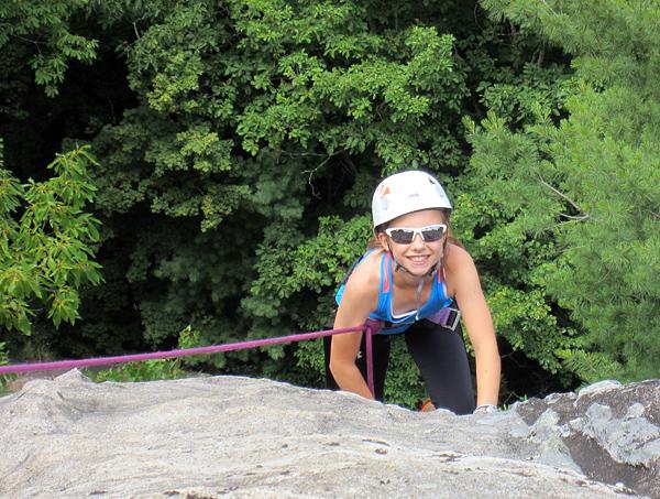 Rock Climbing Cool Girl