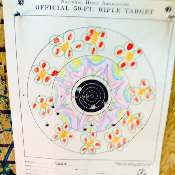 Decorated Riflery Target