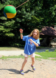 Tetherball Camp Game