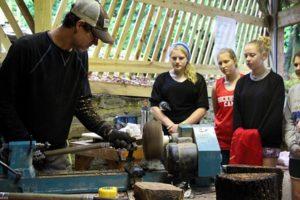 Camp Wood Turning Demo