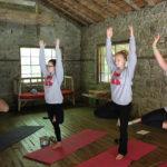 Yoga Camp Pose