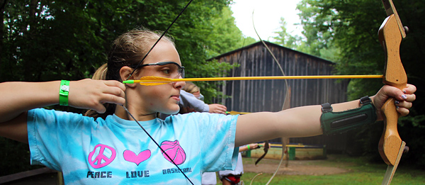 Camp Archery Pull Girl