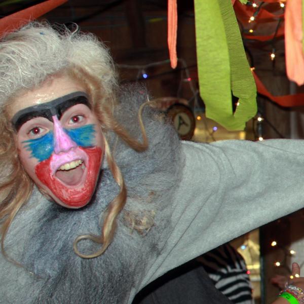 Baboon Kid Costume
