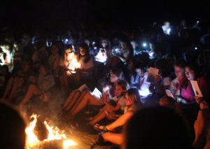 Campfire Closing Night of Camp