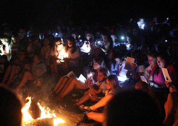 Campfire Closing Night of Camp
