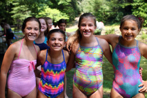 Camp Swimming Friends