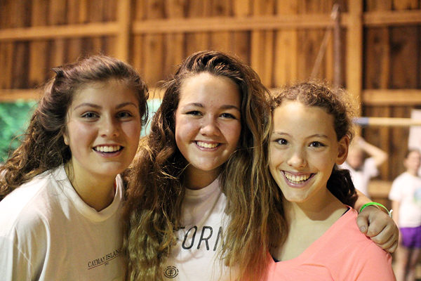 Camp Teen Girl Friends