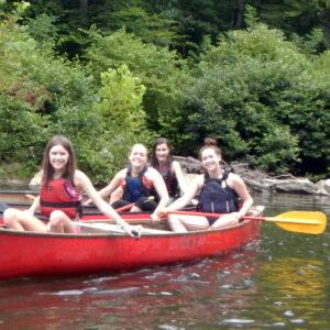 Canoe Camp Kids