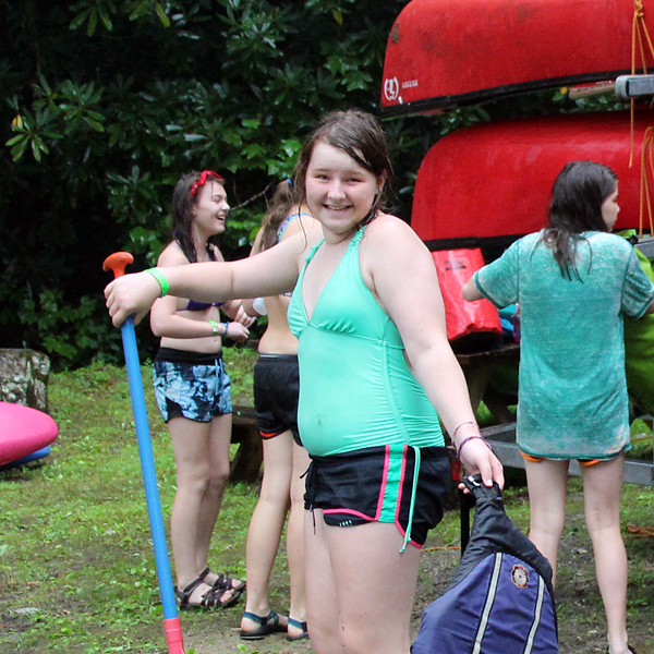 Canoe Trip Kid