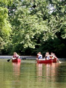 Camp French Broad Float