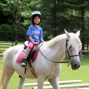 Horseback Riding Kid