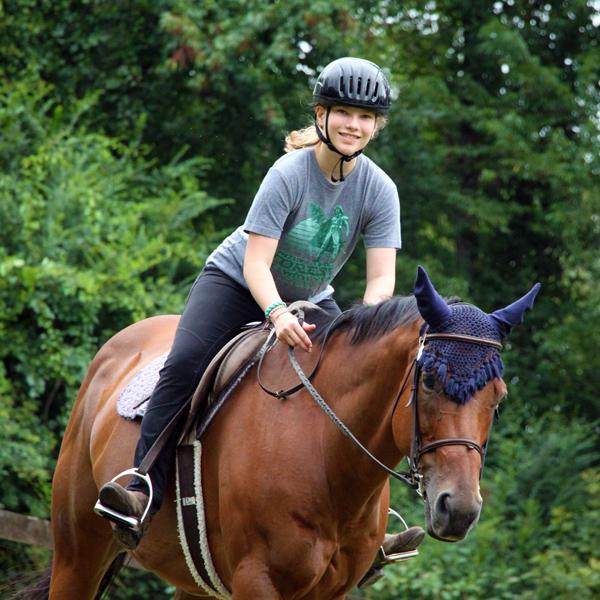 Horseback Riding Camper