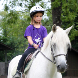 Horsback Riding Child