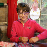 Kid Weaving Loom Camp