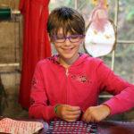 Kid Weaving Loom Camp