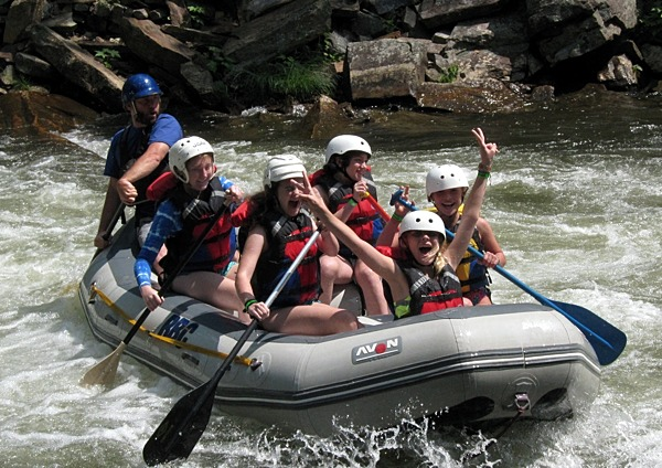 Camp Girls Nantahala Celebration