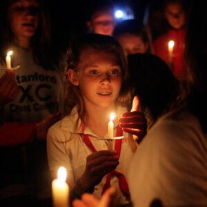 Camp Spirit Candle Girl