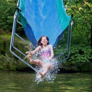 Camp Water Slide Fun