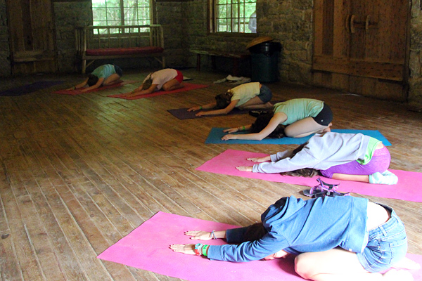 Camp Yoga Class