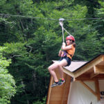 Zipline Camp Girl