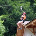 Zipline Camp Girl