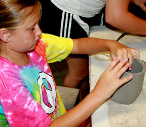 Ceramics Girl Camp
