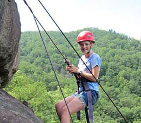 Rock Climb Kid